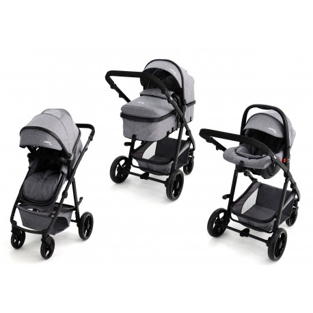TRIO CONVERTIBLE TWO + GRIS